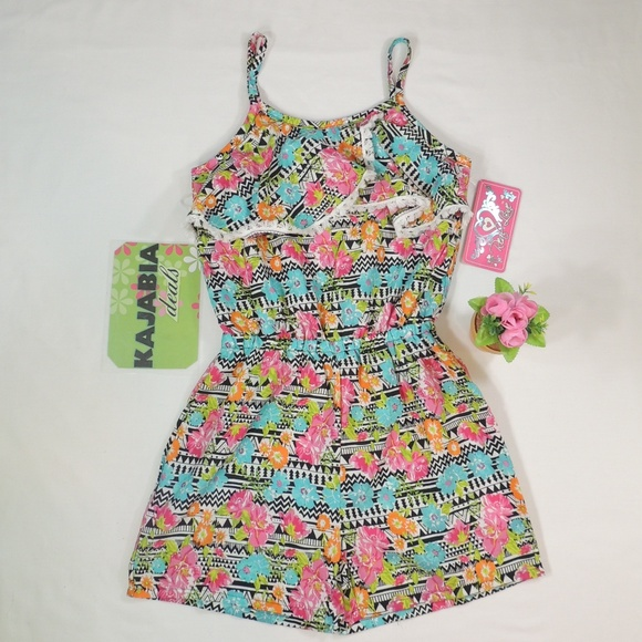 df87e96a37 REAL LOVE Girls Romper. Size 10-12 💥JUST IN💥